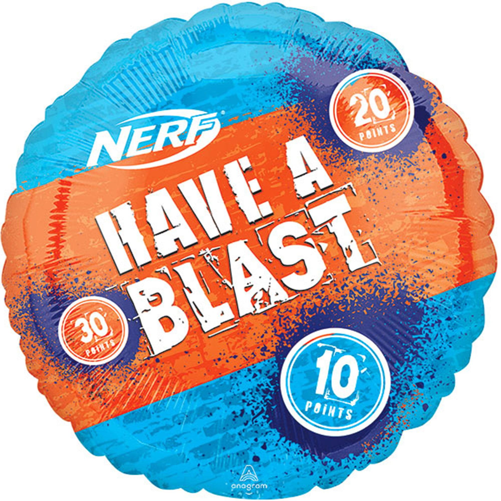"""Nerf Target Foil Balloon 28"""""""