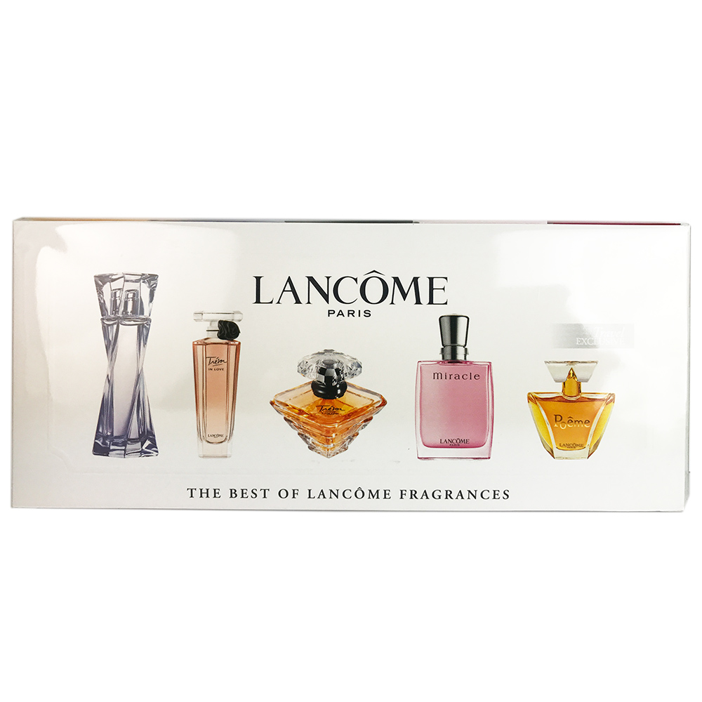 Lancome Miniatures Collection for Women 5 Piece Set