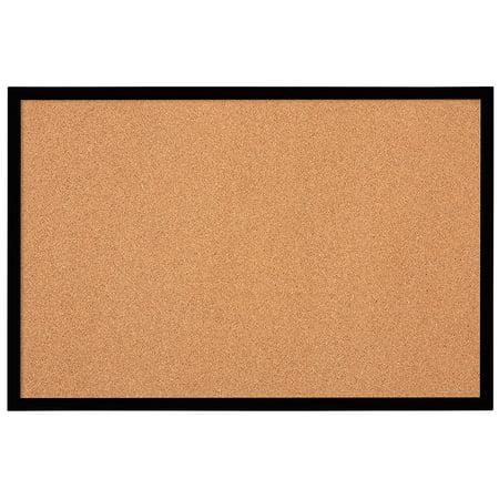 Bulletin Board Cork 2 X 3 Black Frame Mwdb2436 Bk Is Feet