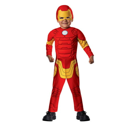 Halloween Iron Man Deluxe Infant/Toddler Costume](Halloween Costume Ideas For Bald Man)