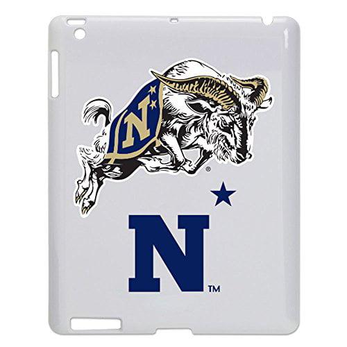 Navy Midshipmen Tablet Case for iPad 2/3 - White