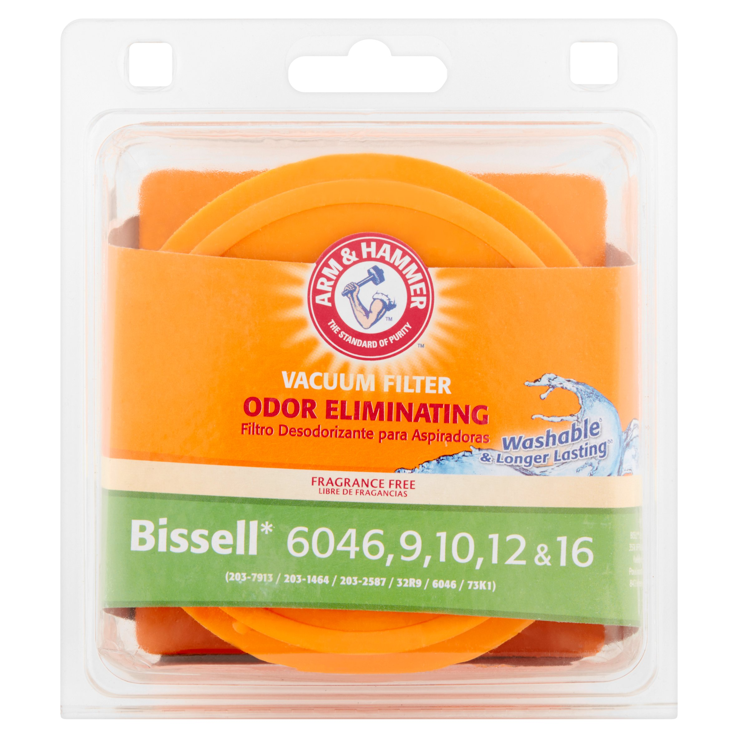 Arm & Hammer Odor Eliminating Bissell Vacuum Filter
