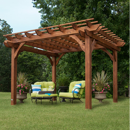 Backyard Discovery 7.8 Ft. H x 12 Ft. W x 10 Ft. D Pergola by Backyard Discovery