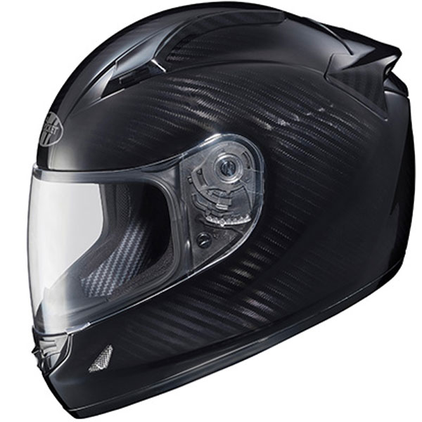 Joe Rocket Speedmaster Carbon Fiber Weave Helmet Black/Titanium