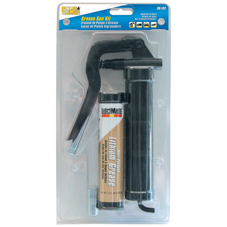 Pistol Grease Gun Kit W/Ext and Cartridge