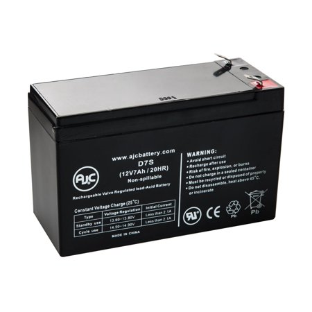 Best Power Unisys Ebc 96 12V 7Ah Ups Battery   This Is An Ajc Brand  174  Replacement
