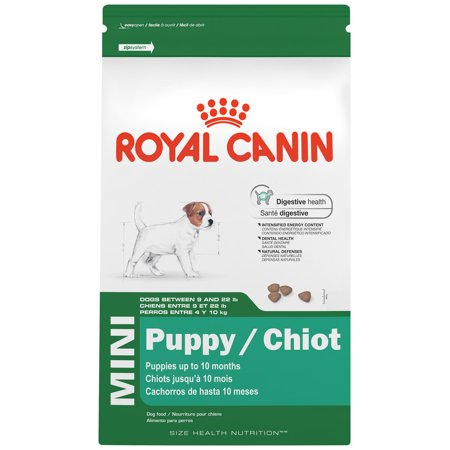 Royal Canin Size Health Nutrition Mini Puppy Small Breed Puppy Dry Dog Food, 2.5 lb