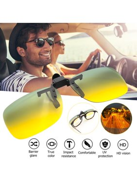 4376e004f9 Product Image Polarized UV400 Lens Clip-on Night Vision Driving Glasses  Eyeglasses Sunglasses Anti-Glare Sport