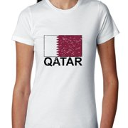 Qatar Flag - Special Vintage Edition Women's Cotton T-Shirt