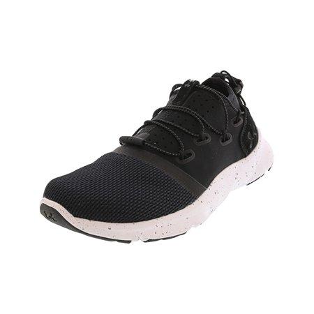 Under Armour Women's Drift 2 Black / White Ankle-High Fashion Sneaker -