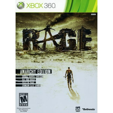 Rage, Bethesda Softworks, Xbox 360, 93155117433