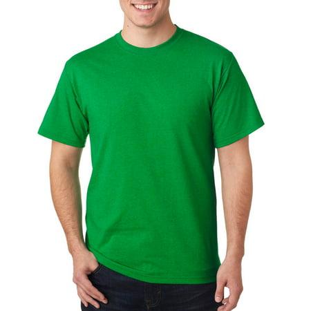 471cce80d8 Fruit of the Loom - 3930 Cotton T-Shirt -Retro Heather Green -L -  Walmart.com