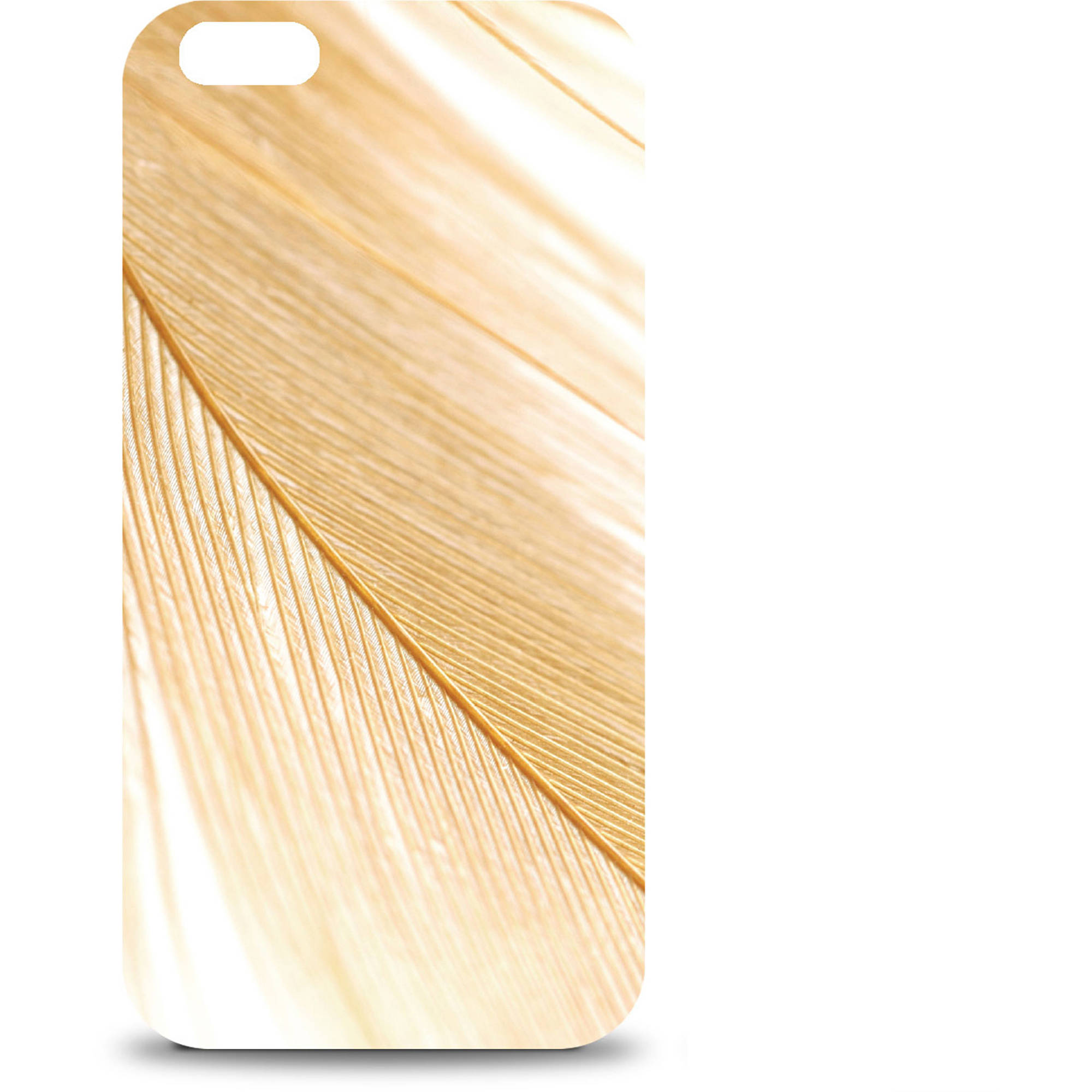 OTM Apple iPhone 6 Feather Collection Case, Gold