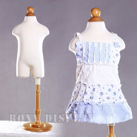 Kid Mannequin Child Children Body Form 6 months Old Dress form Display #JF-11C6M