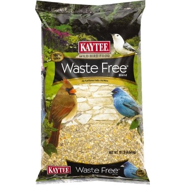 Kaytee Wild Bird Food Waste Free Blend, 10 Lb