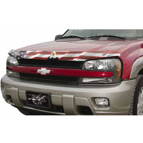Stampede Sta2042-30 07-12 Silverado 1500 (Not Classic) American Flag with Eagle Vp Bugshield