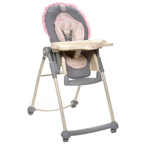 Disney Princess High Chair, Princess Silhouette