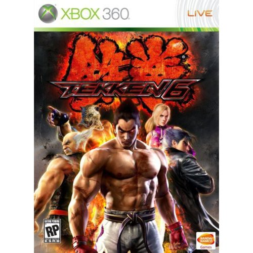 Tekken 6 PH, Bandai/Namco, Xbox 360, 722674210263