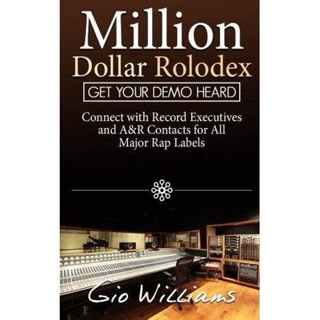 Million Dollar Rolodex  A And Management Contacts For All The Major Rap   Hip Hop Labels