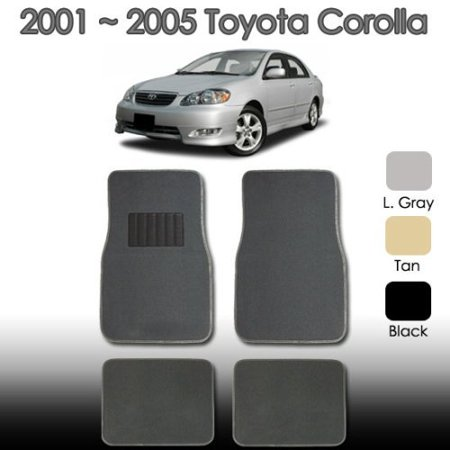 2000 2001 2002 2003 2004 2005 Universal Car Toyota Corolla Floor Mat (Toyota Corolla Floor Mats 2009)