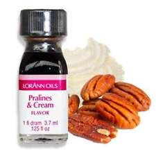 Lorann Oil Pralines and Cream Flavor 1 Dram Super Strength Flavor Extract Candy Baking Includes 1 Dram Dropper And Recipe Card