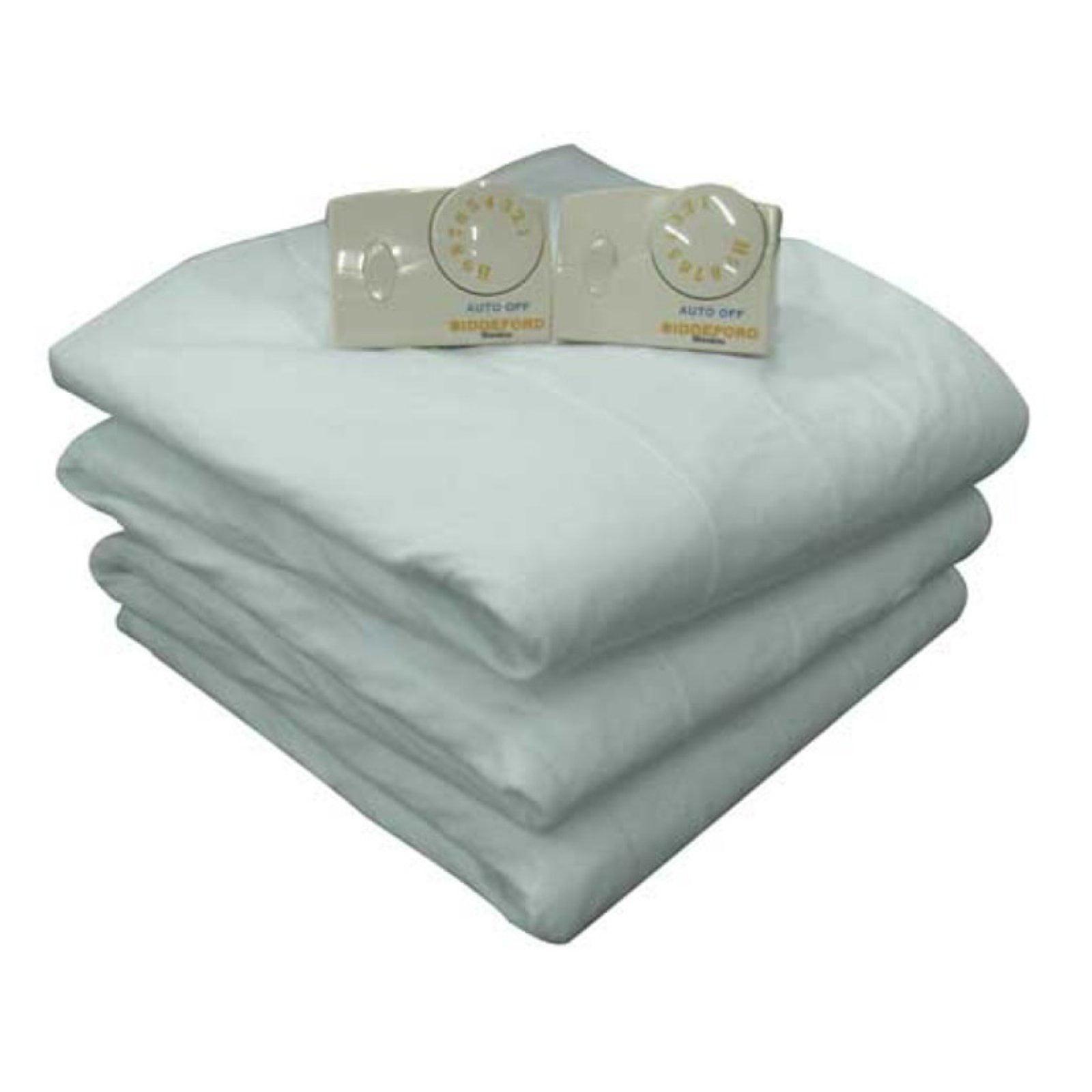 biddeford blankets electric heated mattress pad - Heated Mattress Pad Queen