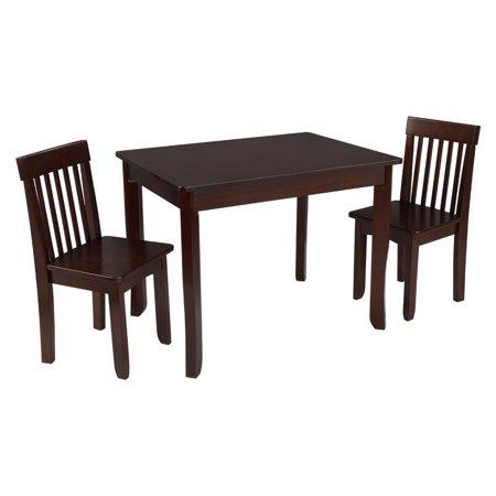 KidKraft Avalon Table II & 2 Chair Set, Multiple Colors - Walmart.com