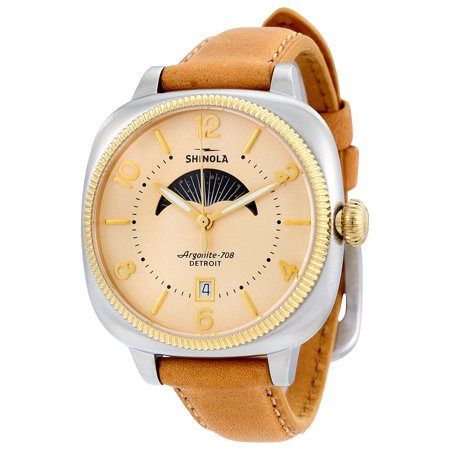 Shinola The Gomelsky Moon Phase Cream Dial Ladies Watch 11000279