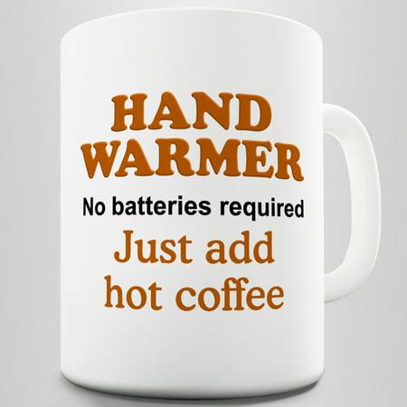Hand Warmer Ceramic Tea Mug
