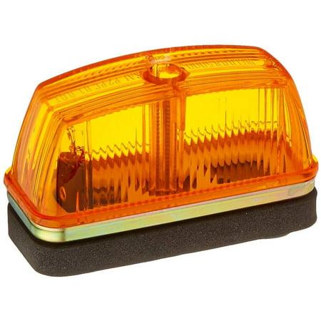 46333 Yellow School Bus Rectangular Marker Light, Grote 46333 MARKER LAMP, YELLOW, SCHOOL BUS By Grote