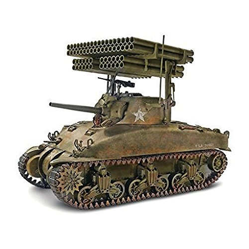 Monogram Sherman M4A1 'Screamin' Mimi Model Kit, 1:32 Scale kit, 133 parts, Paint or... by