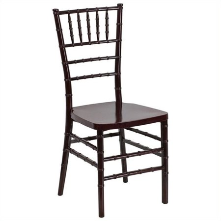 Bowery Hill Resin Stacking Chiavari Dining Chair in -