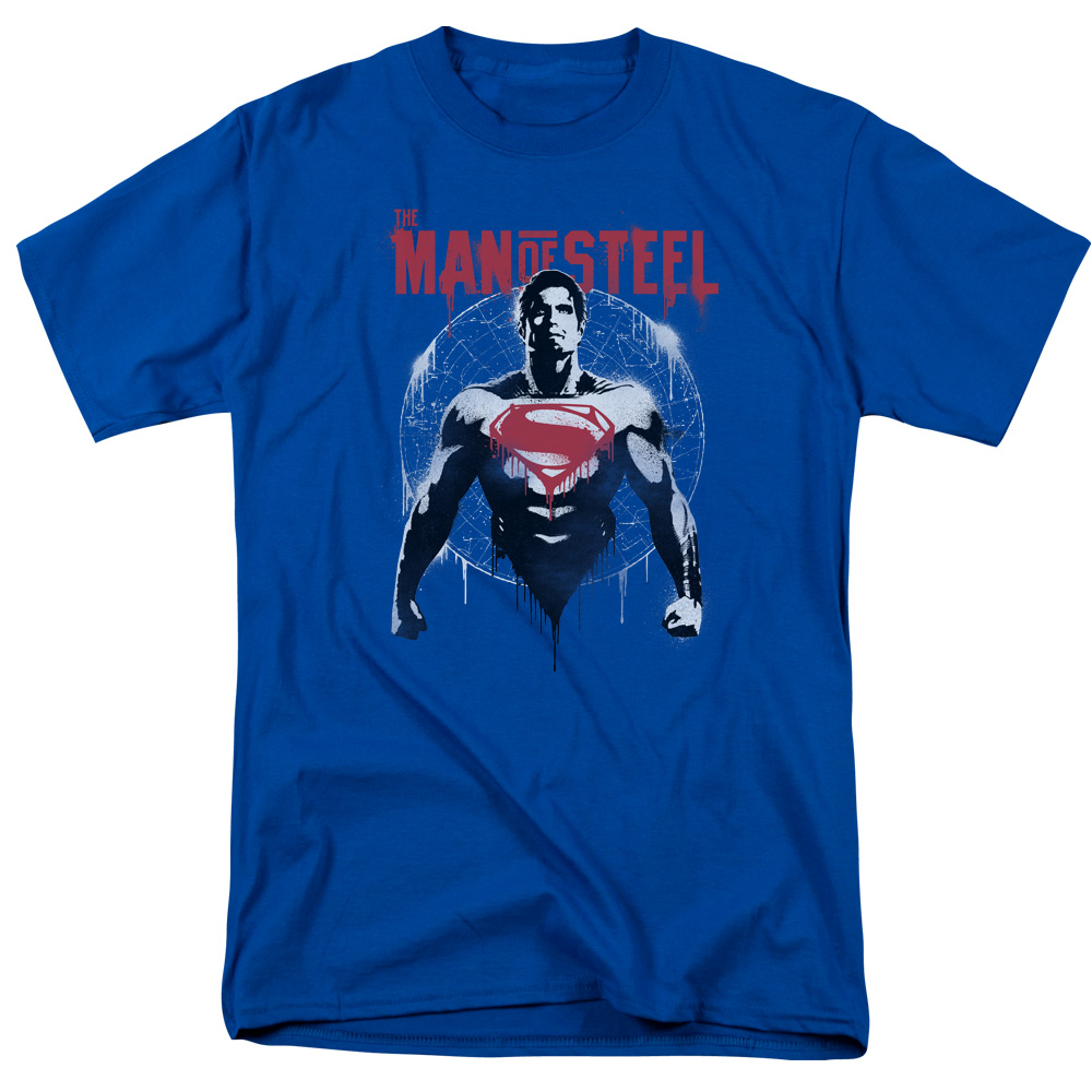 Batman V Superman/Super Spray   S/S Adult 18/1   Royal      Bvs145