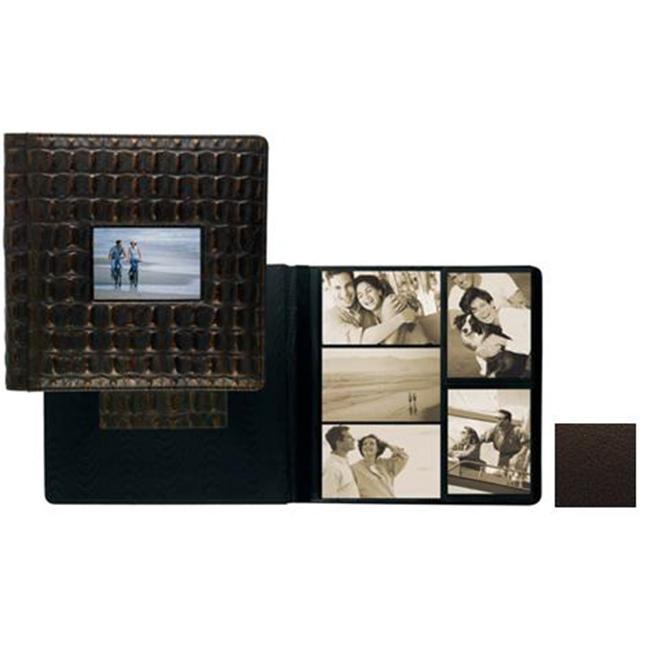 Raika TN 113 BROWN 4inch x 6inch Frame Front Large Album - Brown
