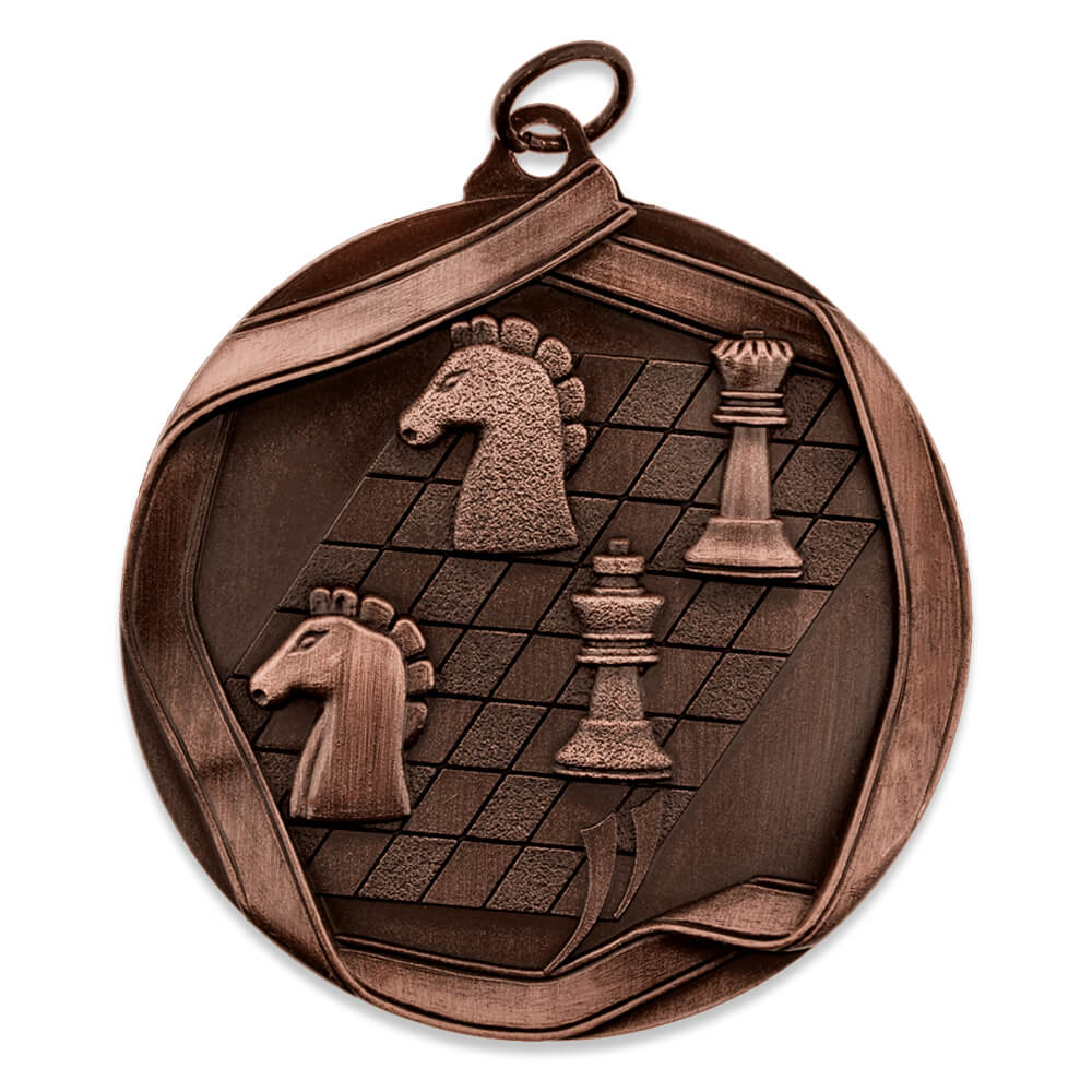 Chess Award Sports Bulk Medal - Gold, Silver and Bronze!