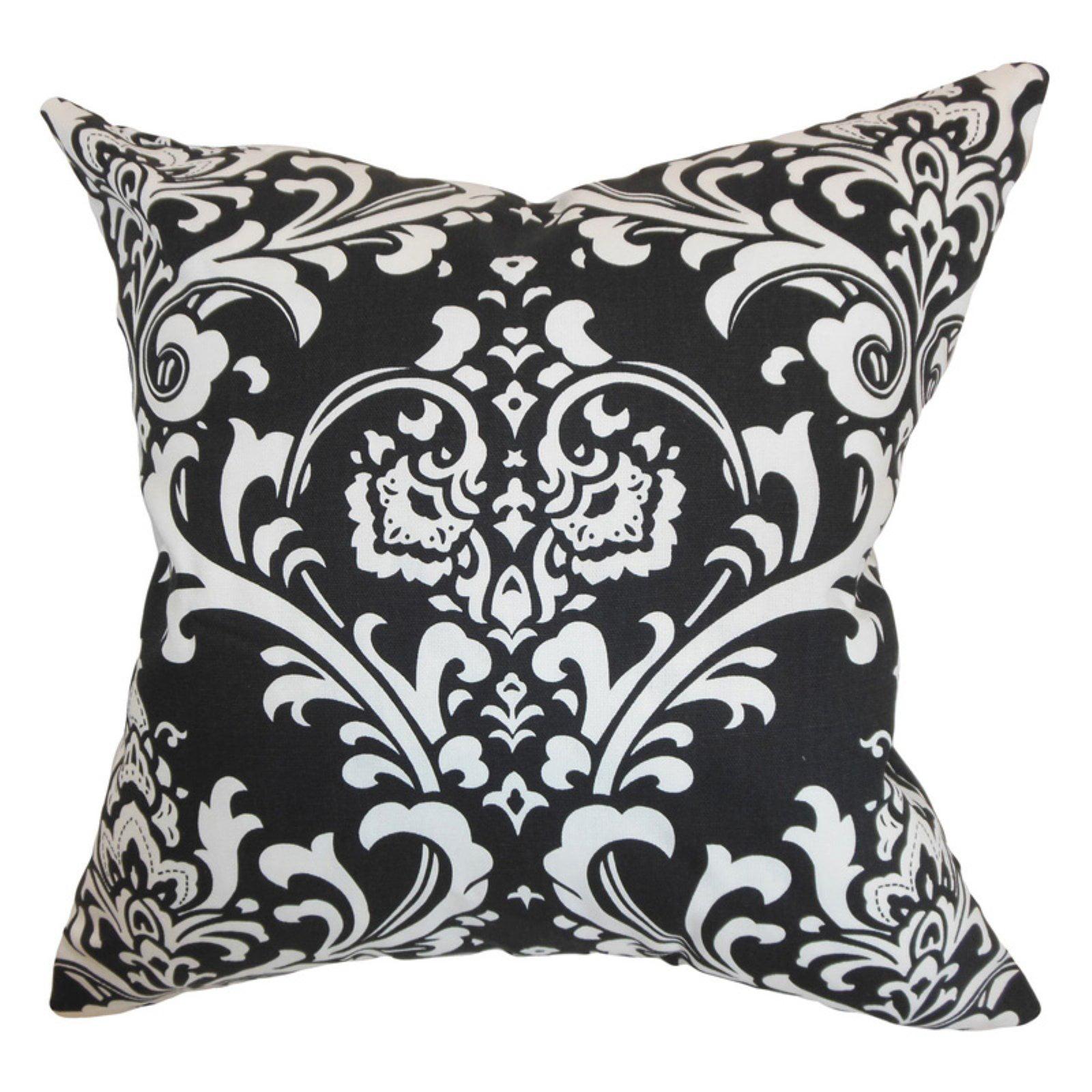 The Pillow Collection Malaga Damask Pillow