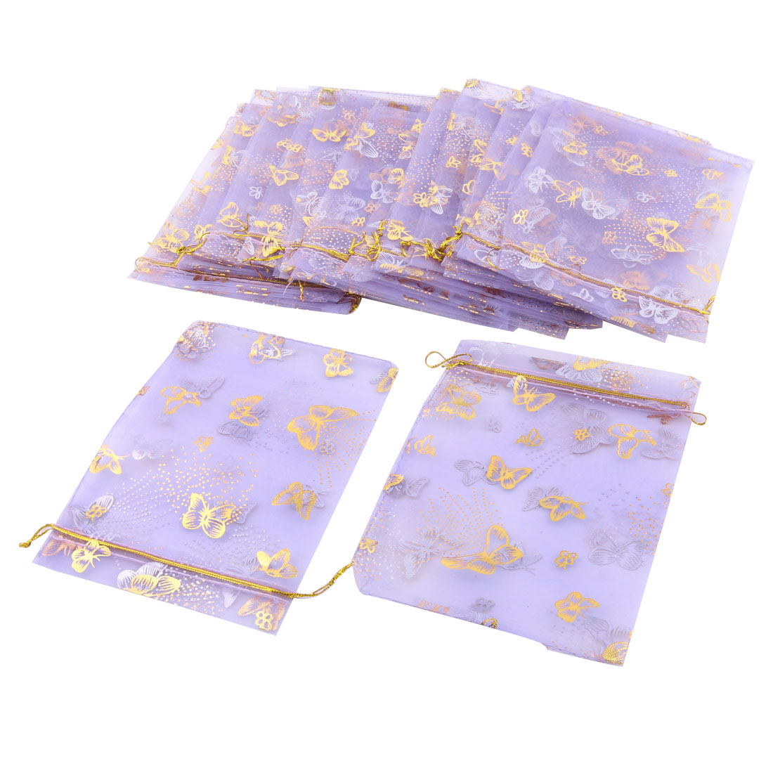 jewelry pouches wedding organza gift bags 25