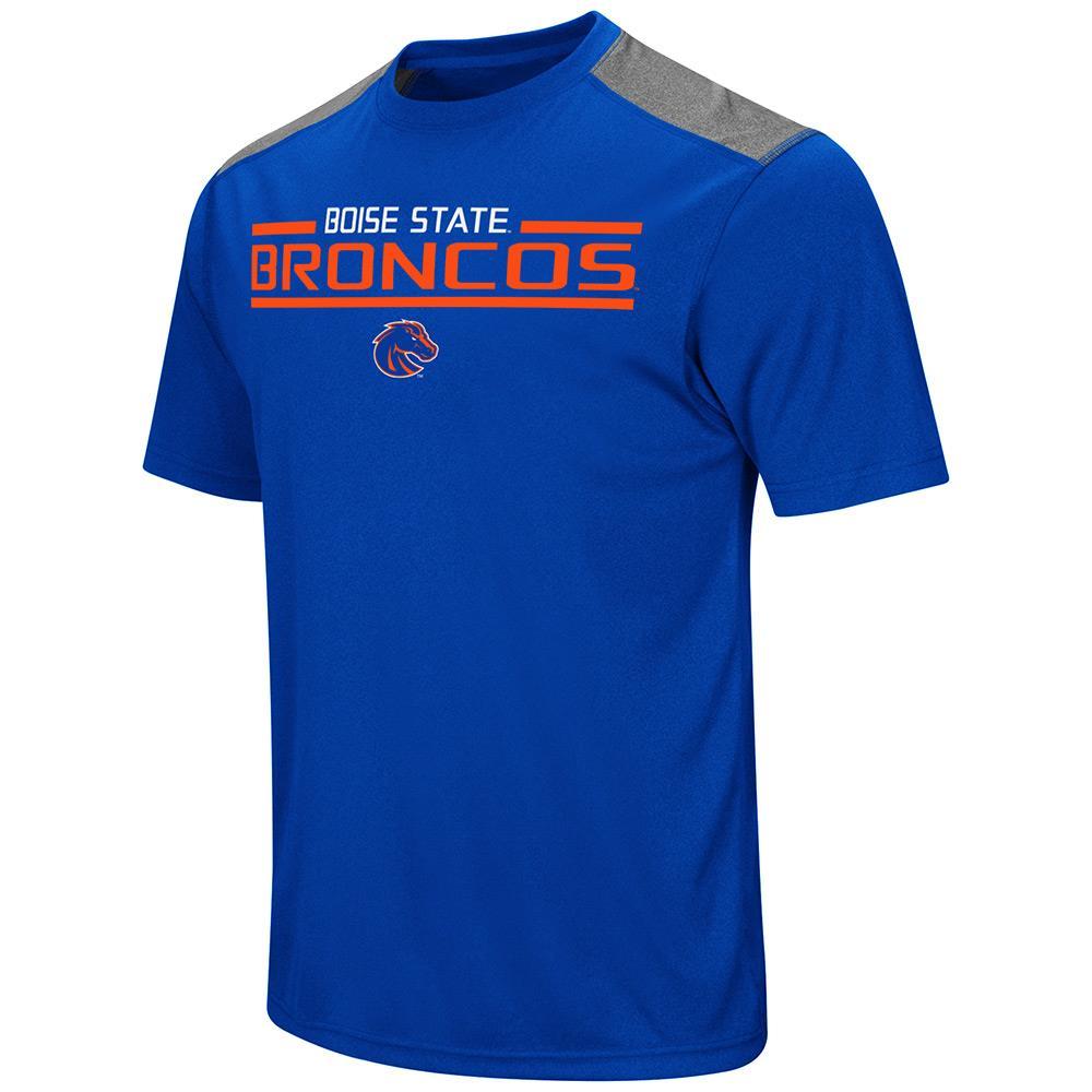 Mens NCAA Boise State Broncos Short Sleeve Tee Shirt (Team Color)