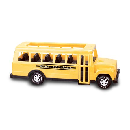 American Plastic Toys 83140 Toddlers Kids Large 18 Inch School Bus Car, Yellow](Plastic Toy)