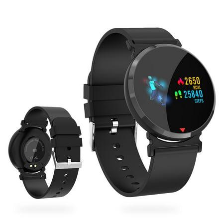Bluetooth Smart Watch, EEEKit E28 Waterproof 0.96
