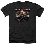 Infinite Crisis Batmen Mens Heather Shirt
