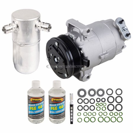 AC Compressor w/ A/C Repair Kit For Chevy Cavalier & Pontiac Sunfire 99 Chevy Cavalier Bumper