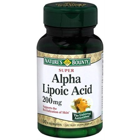 Alpha Lipoic Acid Nature S Bounty Review