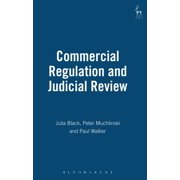 Commercial Regulation and Judicial Review (Hardcover)