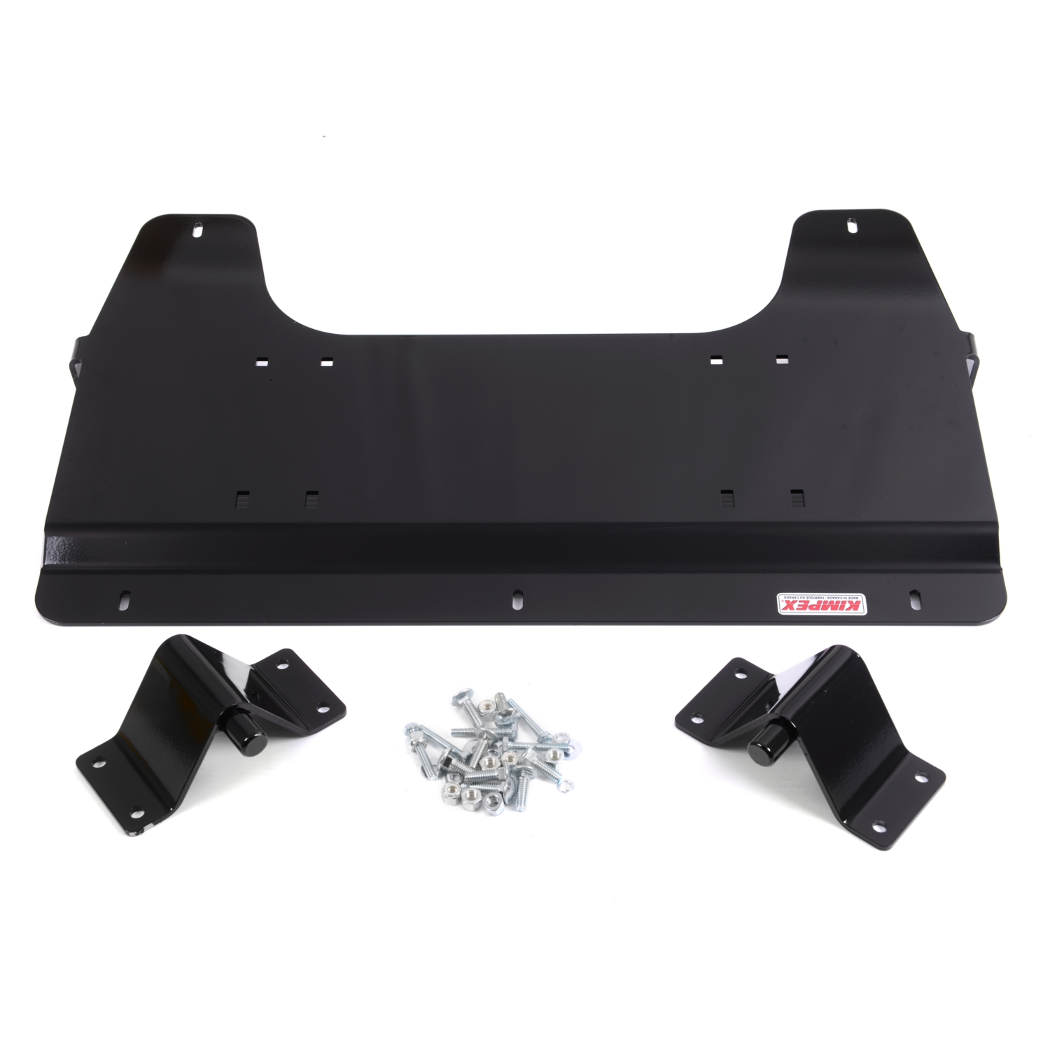 CLICK N GO CNG 1 Snow Plow Bracket for UTV Black  #073472
