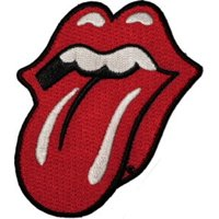 "Application Rolling Stone Tongue 2.8"" x 3.2"" Logo Iron-on/Sew-on Embroidered PATCH"