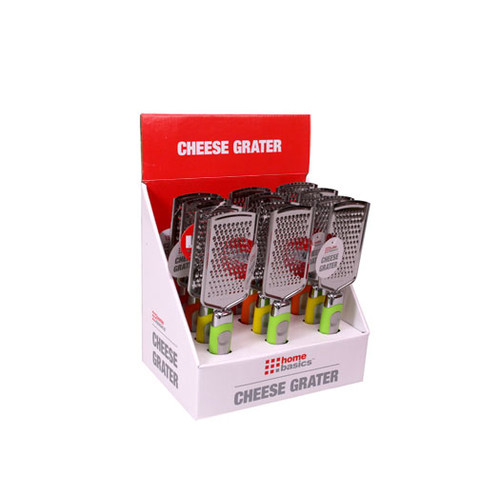 Home Basics Cheese Grater (Set of 4)