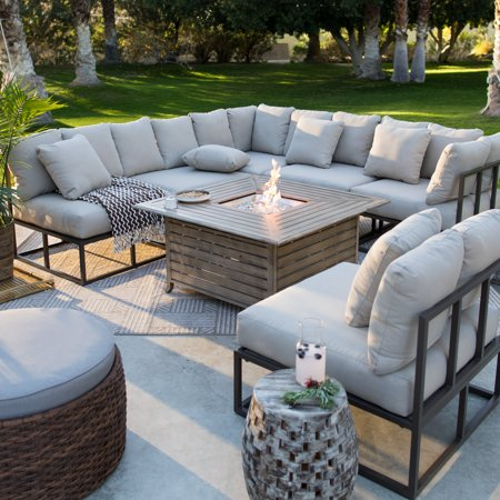 belham living bonaire fire pit patio set - Fire Pit Patio Set