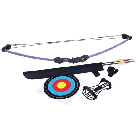 CenterPoint Upland Purple Compound Bow Archery Set AYC1024PU - Archery Sets