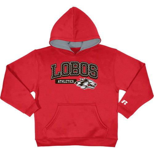 Russell NCAA New Mexico Lobos, Boys Pullover Fleece Hood